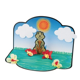 Groundhog Day Craft Kit (Pack of 24) - Image 1 of 1