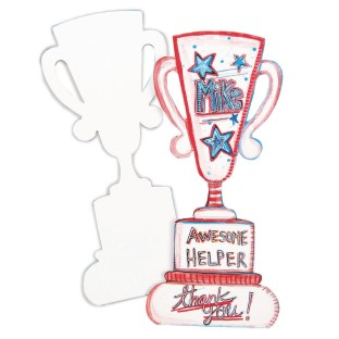 Color-Me™ Trophy (Pack of 36) - Image 1 of 3