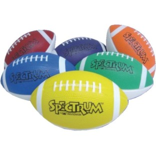 Spectrum™ Foam Footballs (Set of 6) - Image 1 of 1