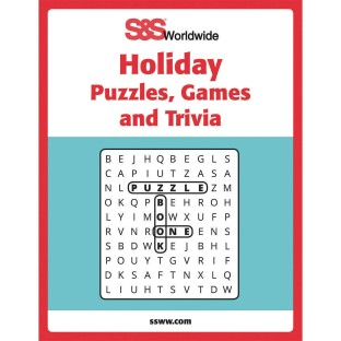 Holiday Puzzles, Games and Trivia Book - Image 1 of 2