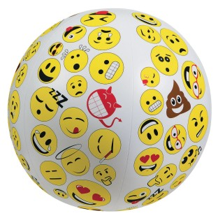 Toss 'n Talk About® Emojis Ball - Image 1 of 2