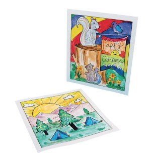 Camp Scene Watercolor Craft Kit - Image 1 of 3
