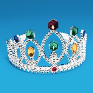 Silver Tiara (Pack of 12) - Image 1 of 1