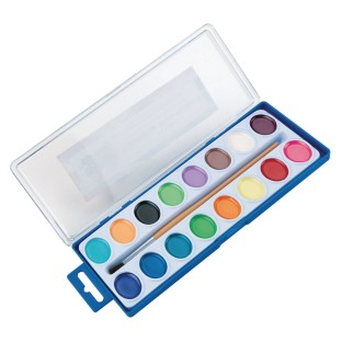 Color Splash!® Watercolor Paint Set, 16 colors - Image 1 of 3