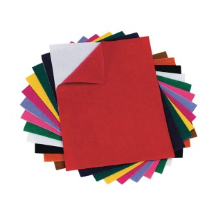 Color Splash!® Adhesive Felt Sheet Assortment (Pack of 12) - Image 1 of 1