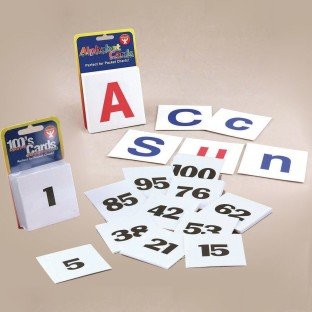 Alphabet and Numbers Card Set - Image 1 of 3