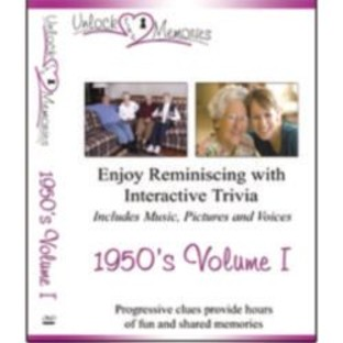 Unlock the Memories DVD, 1950s Volume 1 - Image 1 of 2
