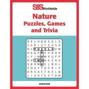 Nature Puzzles, Games and Trivia Book - Image 1 of 1