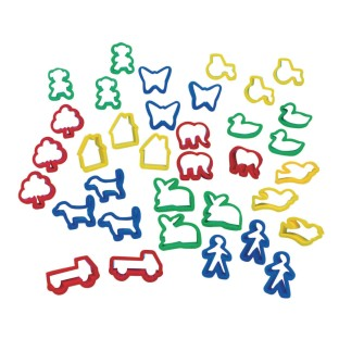 Clay Cutters (Pack of 36) - Image 1 of 1