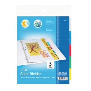 3 Ring Binder Dividers - Image 1 of 1