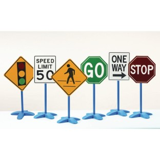 Traffic Signs ( of 6) - Image 1 of 1