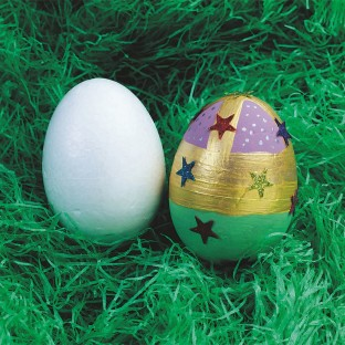 Craft Foam Egg Shapes, 3