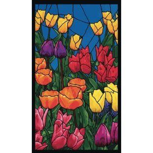 Tulips WOWindow Poster® - Image 1 of 4