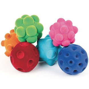 Rubbabu™ Sensory Ball Set (Set of 6) - Image 1 of 2
