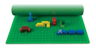 Silicone Building Base Brick Mat - Image 1 of 1