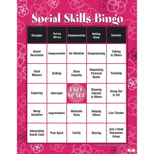 Adult Bingo Game, Social Skills - Image 1 of 1