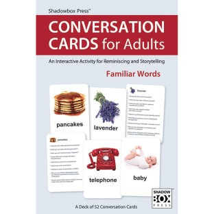 Conversation Cards for Adults - Image 1 of 3