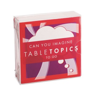 TABLETOPICS® To Go Can You Imagine? Card Game - Image 1 of 3