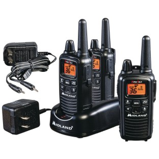 Midland® LXT 30-Mile Two-Way Radios (Pack of 3) - Image 1 of 1