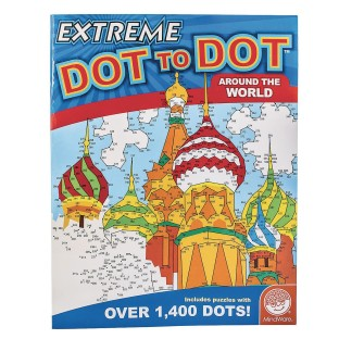 Extreme Dot To Dot Around The World Puzzle Book - Image 1 of 1
