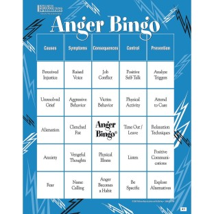 Adult Bingo Game Anger Management - Image 1 of 1