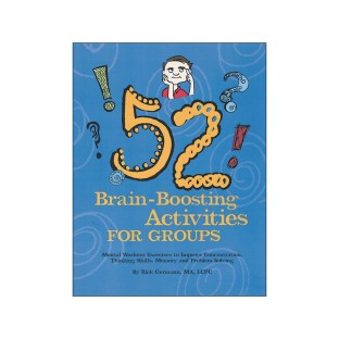 52 Brain Boost Activities For Groups Book With CD - Image 1 of 1