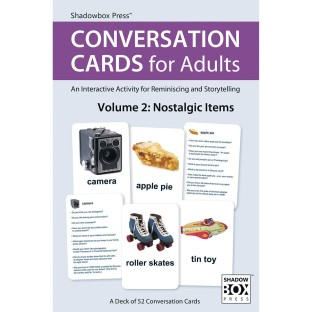 Conversation Cards For Adults Volume 2: Nostalgic Items - Image 1 of 4