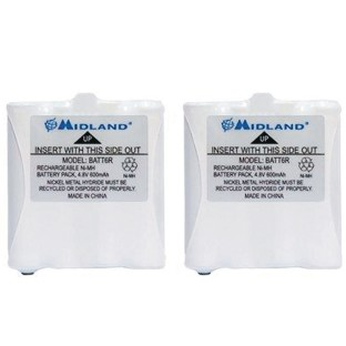 Replacement Batteries for Midland® LXT 2-Way Radios - Image 1 of 1