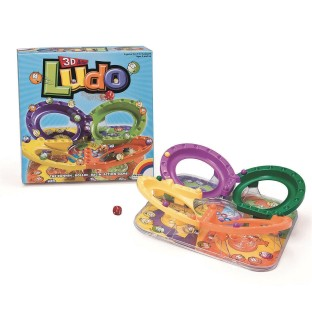 3-D Action Ludo Game - Image 1 of 3