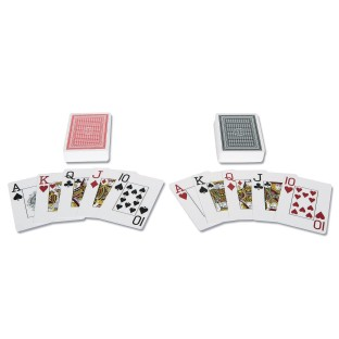 S&S® Plastic Playing Cards (Pack of 2) - Image 1 of 2