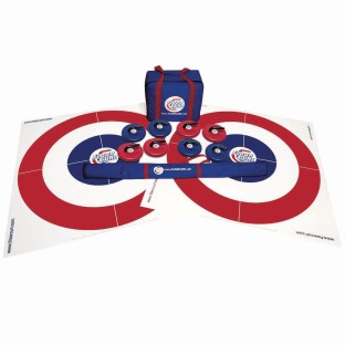 Floor Curling Set - Image 1 of 4