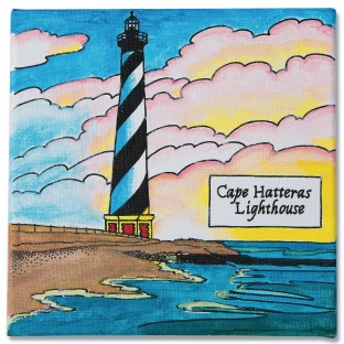 Cape Hatteras Lighthouse Paintings (Pack of 12) - Image 1 of 2