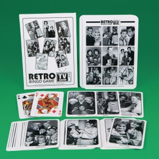 Retro TV Show Bingo™ Game - Image 1 of 1