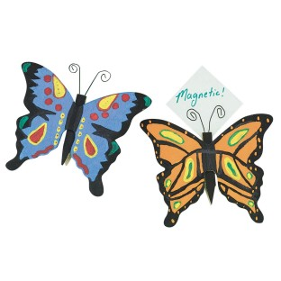 Butterfly Clothespin Magnets Craft Kit (Pack of 12) - Image 1 of 2