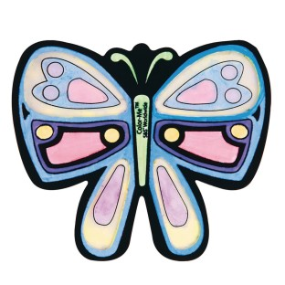 Velvet Butterfly Sun Catchers Craft Kit - Image 1 of 1