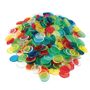 Plastic Bingo Chips (Pack of 500) - Image 1 of 1