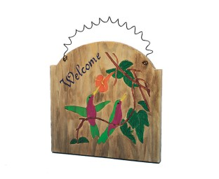 Unfinished Wood Bird Plaques (Pack of 12) - Image 1 of 2