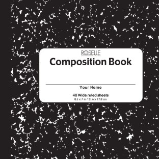 Soft Cover Composition Book - Image 1 of 1
