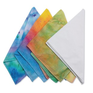 White Bandanas (Pack of 12) - Image 1 of 6