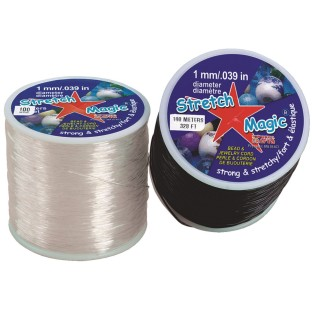 Stretch Magic® Jewelry Cord, 100-meter spool - Image 1 of 1