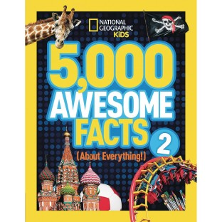 5,000 Awesome Facts (About Everything!) 2 Book - Image 1 of 1