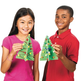 Sparkle Tree Craft Kit (Pack of 12) - Image 1 of 3