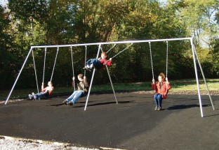 Bipod Swing Set 8 Seats - Image 1 of 1