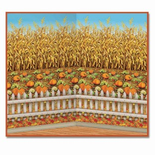 Cornstalks Backdrop - Image 1 of 3