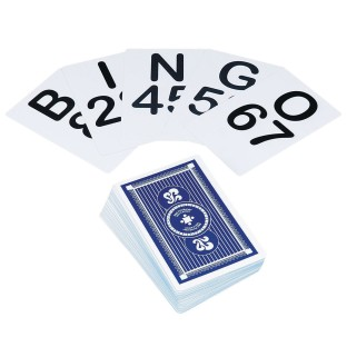photograph about Printable Bingo Calling Cards named Order Jumbo Bingo Speaking to Playing cards (Preset of 75) at SS Throughout the world