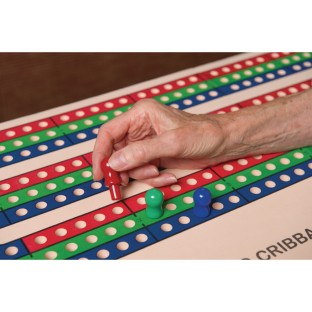 Jumbo Foam Cribbage Board - Image 1 of 2
