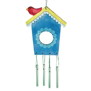 Birdhouse Wind Chime Craft Kit (Pack of 12) - Image 1 of 1