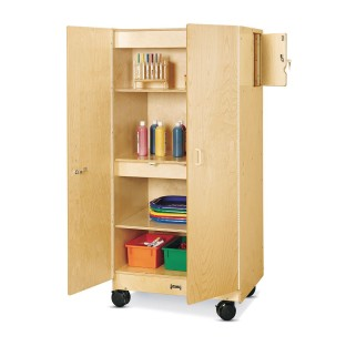 Mobile Hideaway Storage Cabinet - Image 1 of 1
