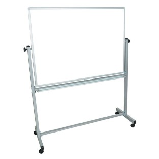 Double-Sided Magnetic Whiteboard 48