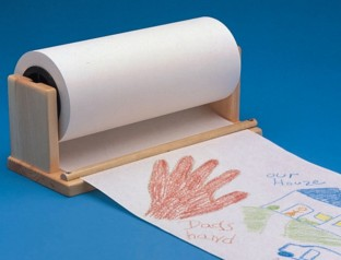 Paper Roll Holder/Cutter - Image 1 of 1